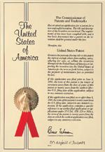 米国物質特許証書第5663197号